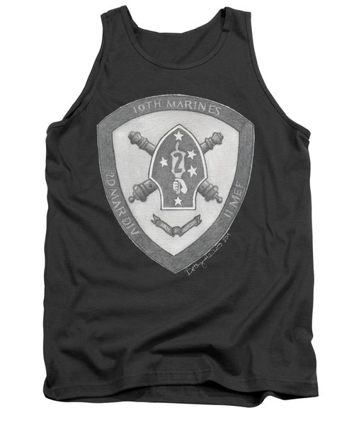10th Marines Crest Tank Top