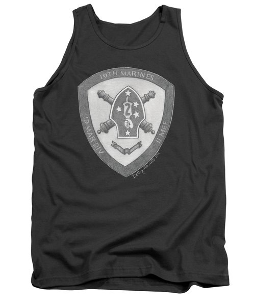 10th Marines Crest Tank Top