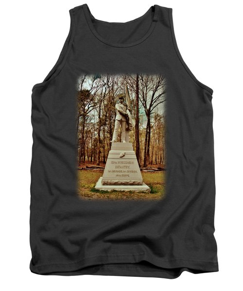 10th Wisconsin Infantry Tank Top