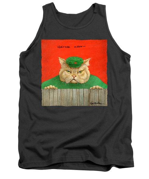 Chairman Meow... Tank Top