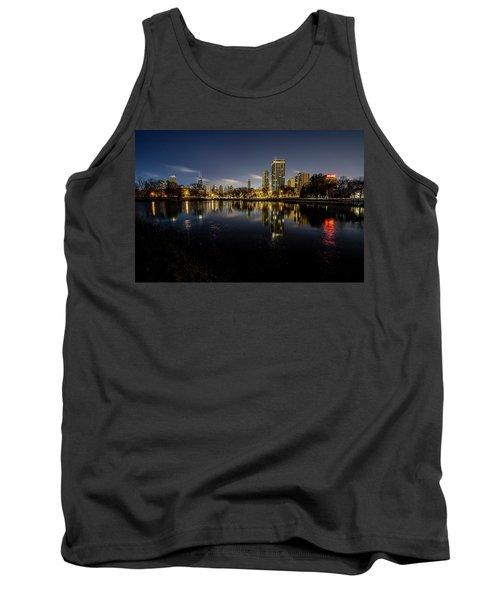 Chicago Skyline At Dawn  Tank Top