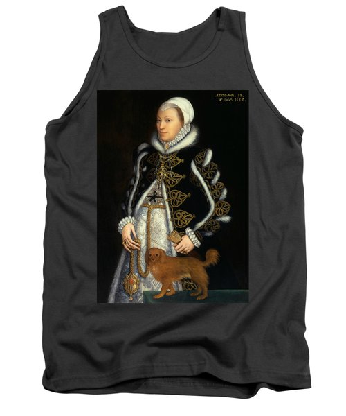 Portrait Of A Woman, Probably Catherine Carey, Lady Knollys Tank Top