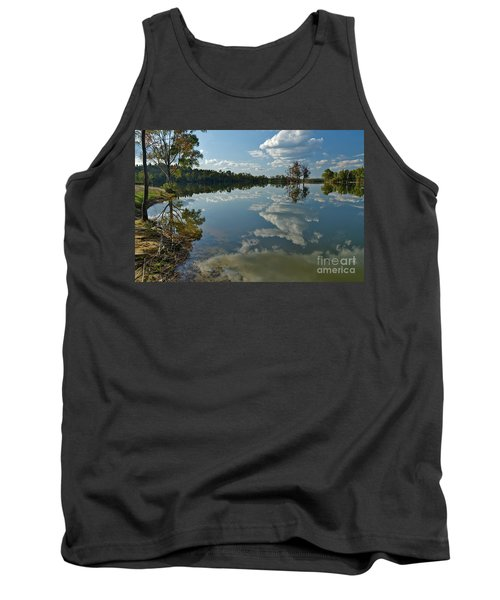 Reflections By The Lake Tank Top