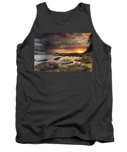 Stormy Sunrise Seascape Tank Top