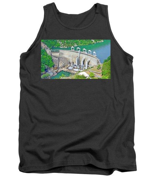 Smith Mountain Lake Dam Tank Top