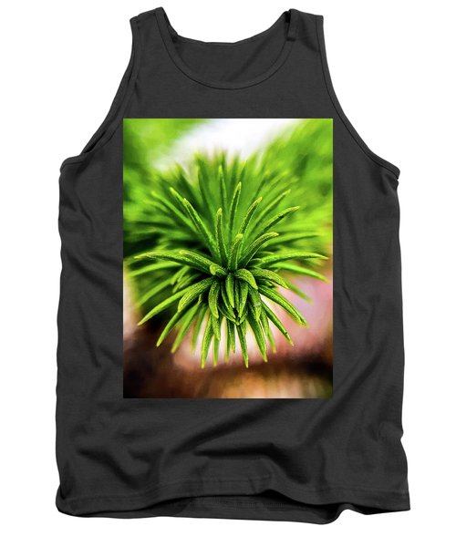 Green Spines Tank Top