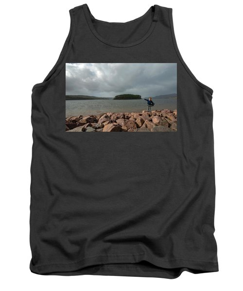 A Charming Little Girl In The Isle Of Skye 1 Tank Top