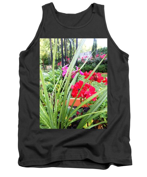 A Litle Red Tank Top