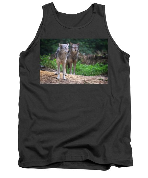 A Pair Of Mackenzie Valley Wolves Tank Top