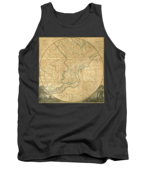A Plan Of The City Of Philadelphia And Environs, 1808-1811 Tank Top
