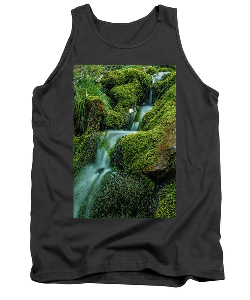 A View From The Side Of The Bow Valley Parkway, Banff National P Tank Top