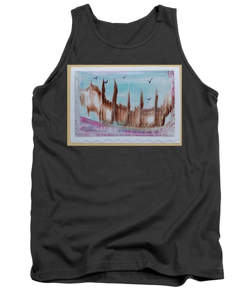 Abstract Castles Tank Top