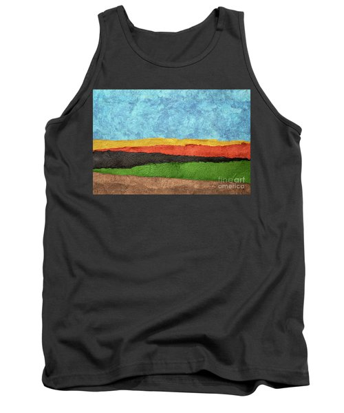 Abstract Landscape Tank Top