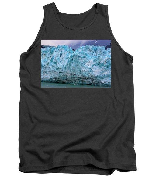 Alaskan Blue Glacier Ice Tank Top