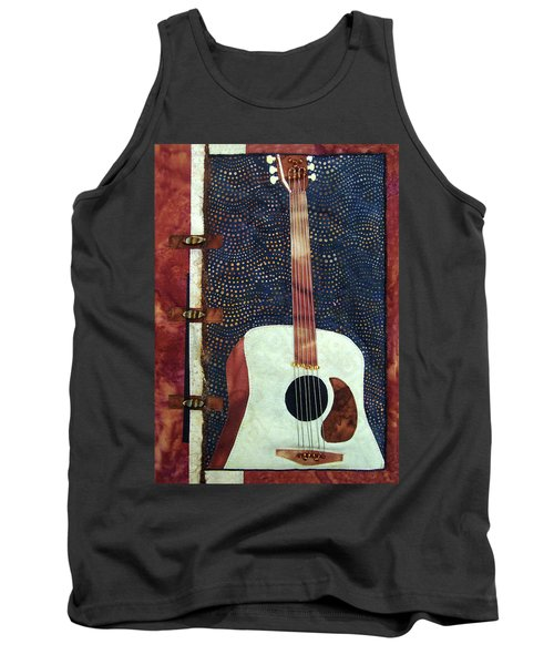 All That Jazz Guitar Tank Top