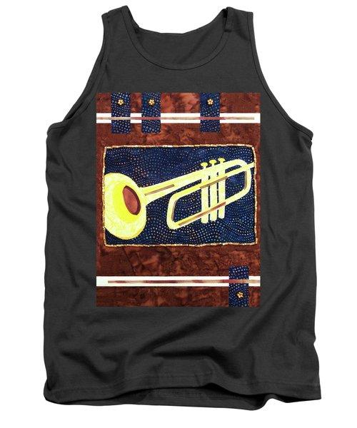All That Jazz Trumpet Tank Top