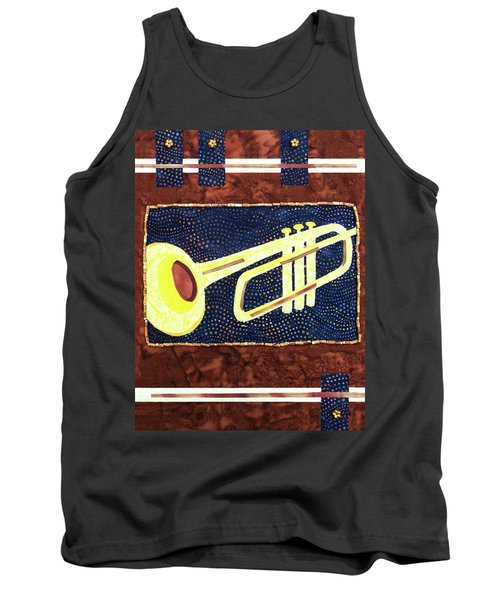 All That Jazz Trumpet Tank Top