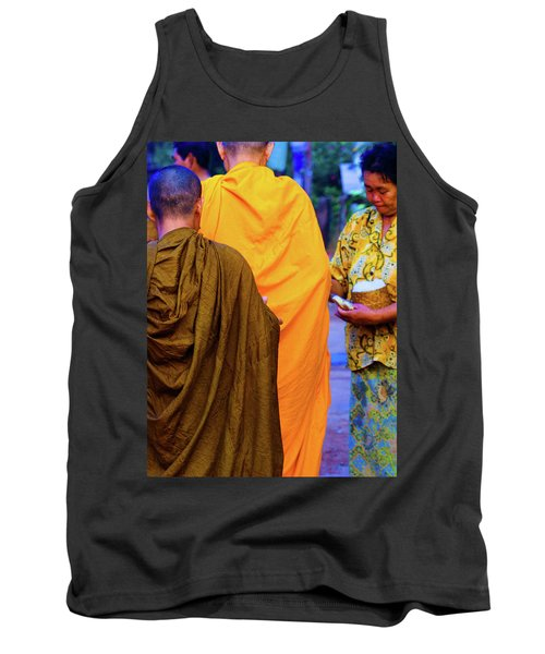 Alms For The Monks Tank Top