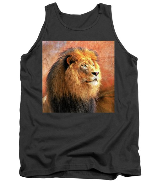 Alpha Male Lion Tank Top
