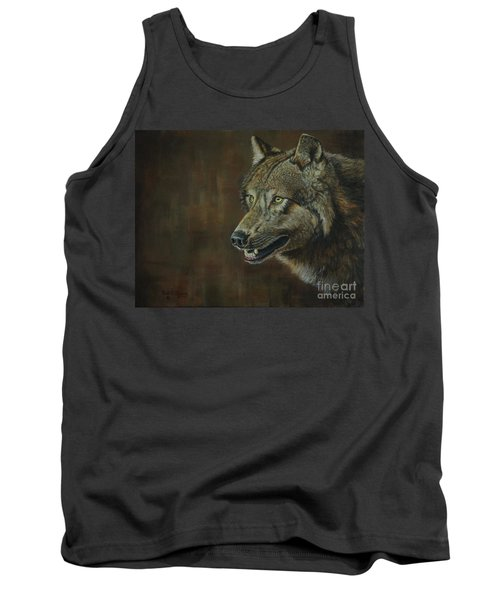 Alpha Male ......the Gray Wolf Tank Top