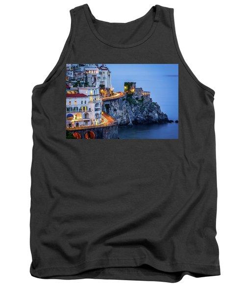 Amalfi Coast Italy Nightlife Tank Top