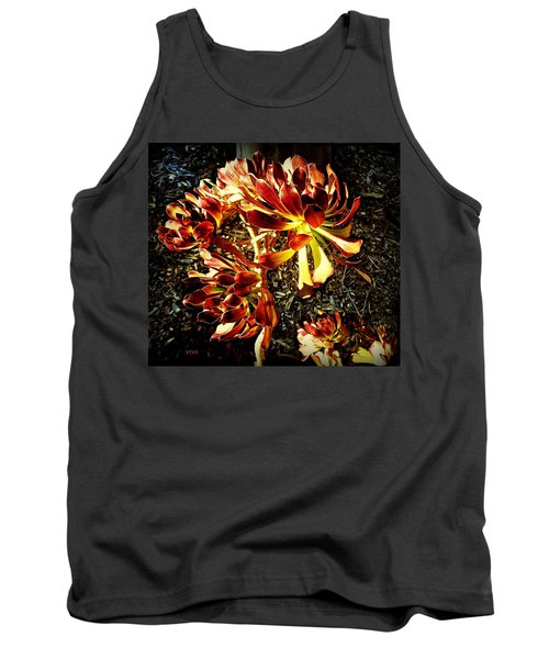 An Old - Fashioned Girl Floral Tank Top