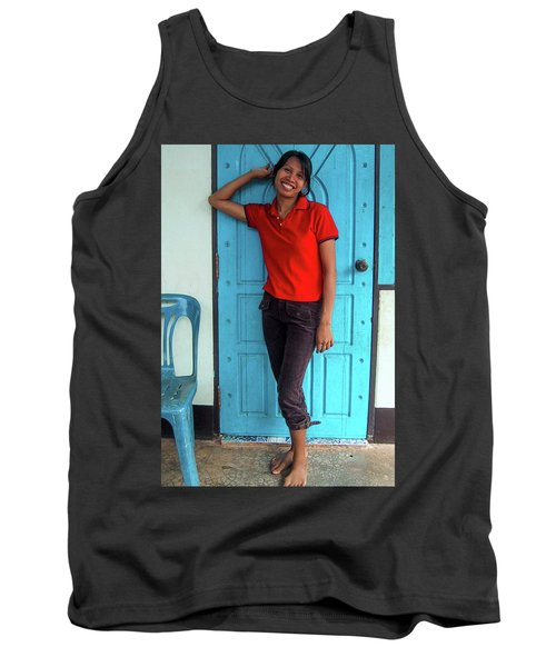 Another Lovely Smile Tank Top