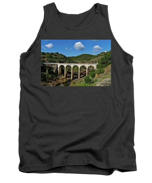 Antique Mertola's Bridge In Alentejo Tank Top