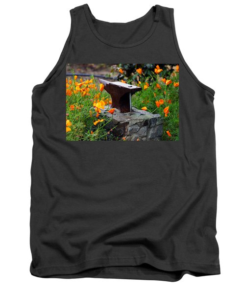Anvil In The Poppies Tank Top
