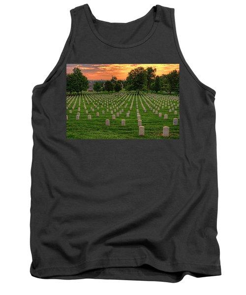 Arlington National Cemetery Sunrise Tank Top