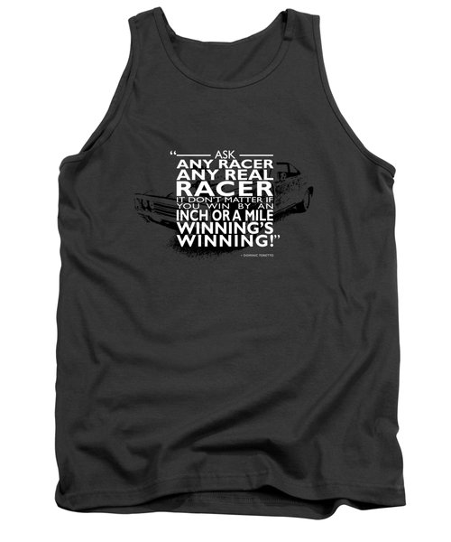 Ask Any Racer Tank Top