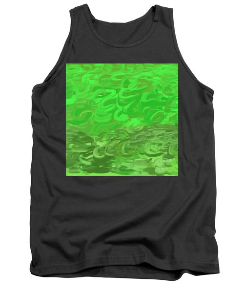 Green Expansions Tank Top