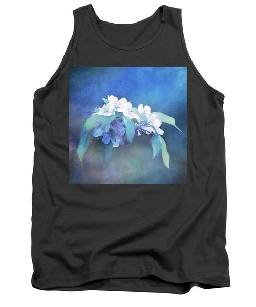 Painted Crabapple Blossoms Tank Top