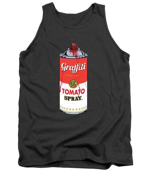 Tomato Spray Can Tank Top