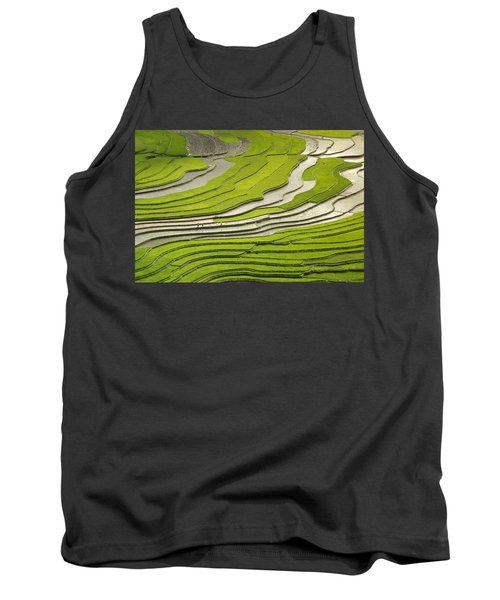 Asian Rice Field Tank Top