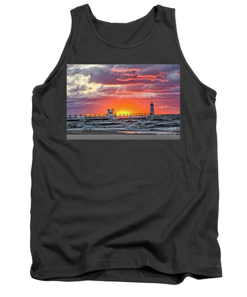 At The Beginning Of The Sunset Tank Top