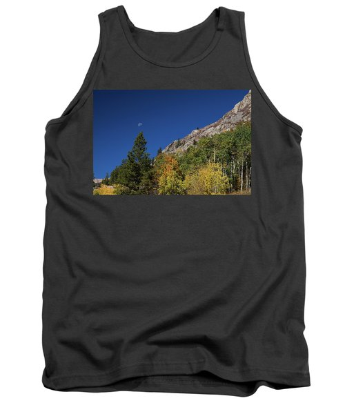 Tank Top featuring the photograph Autumn Bella Luna by James BO Insogna