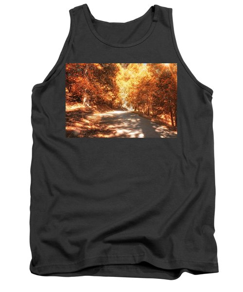Autumn Forest Tank Top