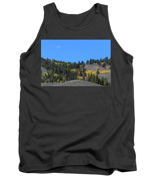 Tank Top featuring the photograph Autumn Moon by James BO Insogna
