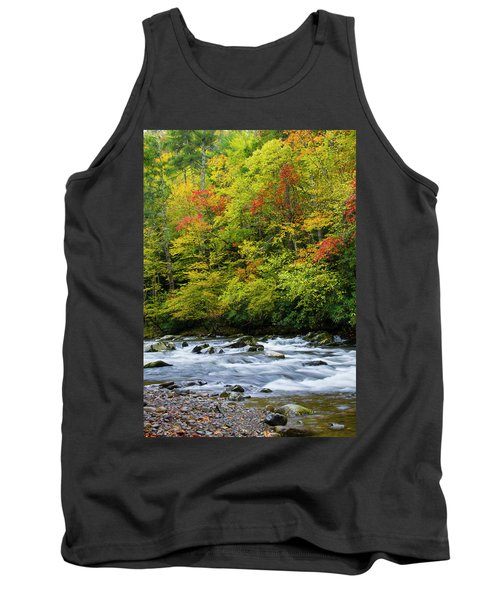 Autumn Stream Tank Top