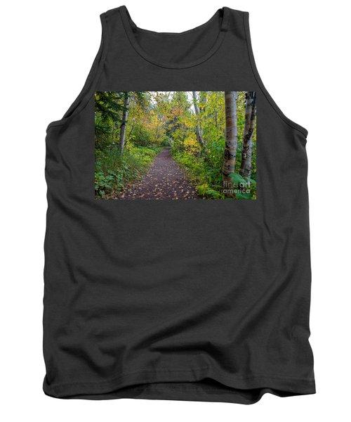 Autumn Woods Tank Top