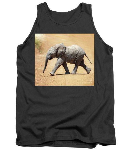 Baby African Elephant Tank Top