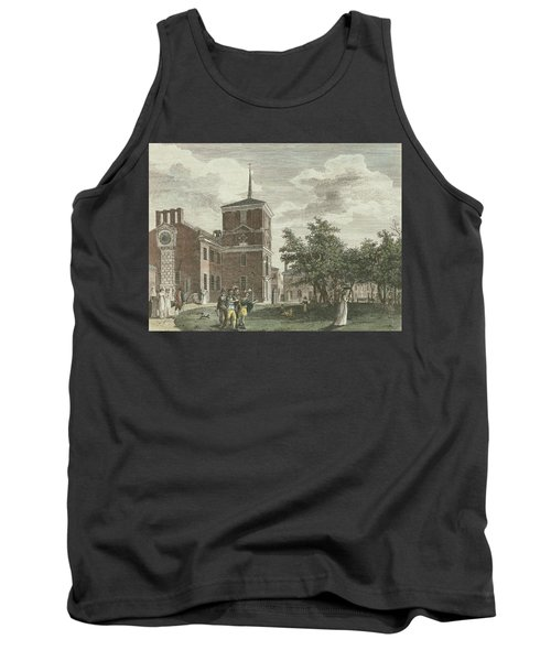 Back Of State House Tank Top