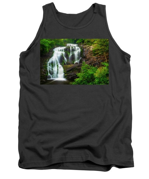 Tank Top featuring the photograph Bald River Falls by Andy Crawford