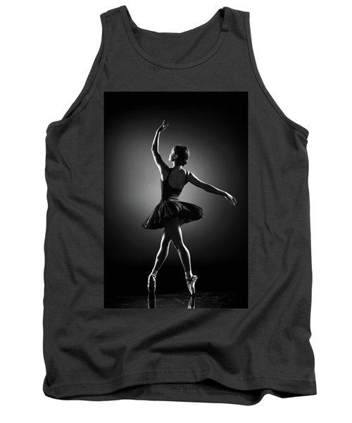 Ballerina Dancing Tank Top