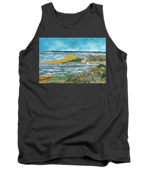 Bandon Lighthouse Tank Top