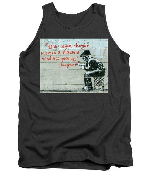 Banksy Diogenes Tank Top