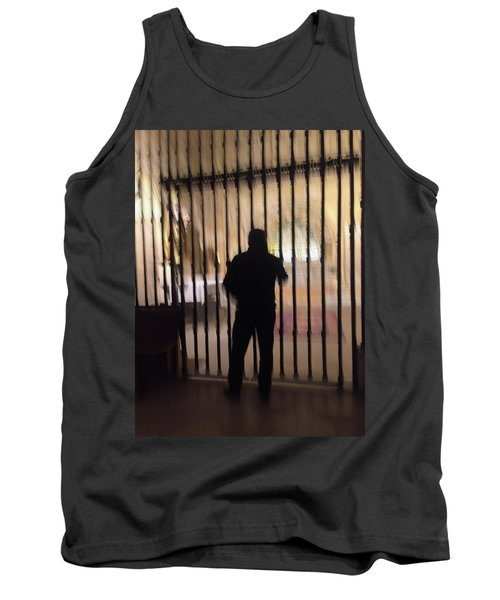 Tank Top featuring the photograph Barred From Heaven by Alex Lapidus