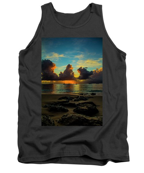 Beach At Sunset 2 Tank Top