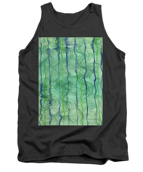 Beach Water Lines Tank Top